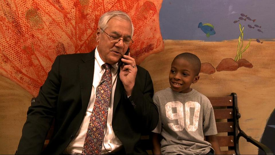 "An image from ""Compared to What: The Improbable Journey of Barney Frank."""